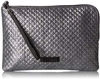 Vera Bradley Iconic Rfid Wristlet-Metallic Microfiber