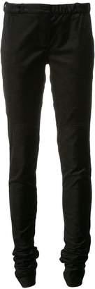 Taylor velvet skinny trousers