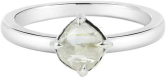 "Diamond in the Rough Rough Diamond White Gold Ring ""Moderne"""
