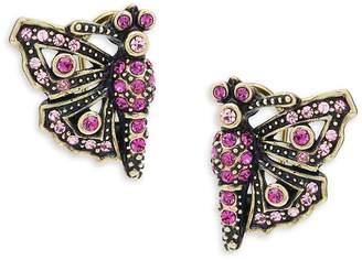 Heidi Daus Women's Butterfly Crystal Earrings