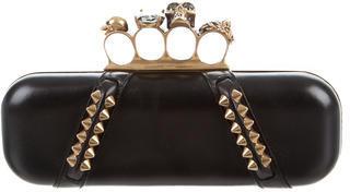 Alexander McQueenAlexander McQueen Knuckle Box Clutch