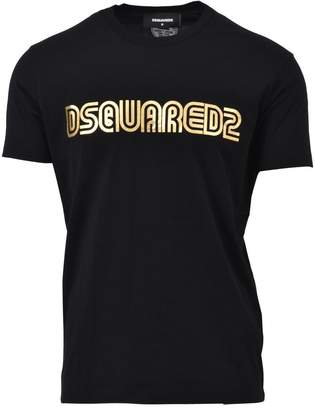 DSQUARED2 Black Crewneck T-shirt