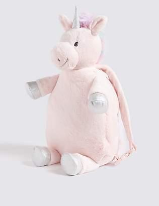 Marks and Spencer Kid's Unicorn Plush Backpack