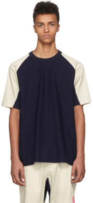 Y-3 Indigo James Harden Satin T-Shirt