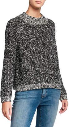 Eileen Fisher Peruvian Cotton Boucle Sweater