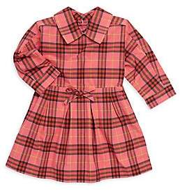 Burberry Baby Girl's & Little Girl's Cressida Plaid Fit-&-Flare Dress