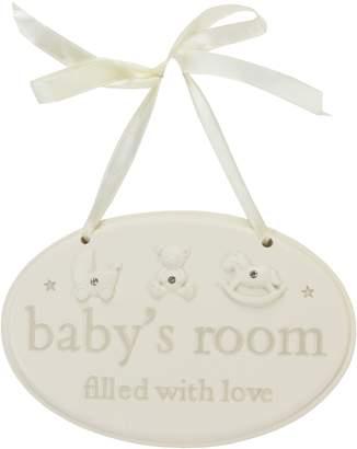 Bambino Resin hanging plq babys room