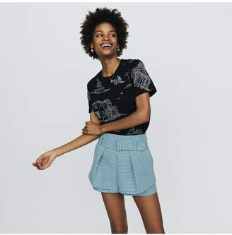 Maje Tweed-Style Shorts