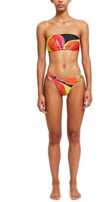 Louisa Ballou Birds of Paradise Reversible Bandeau Bikini