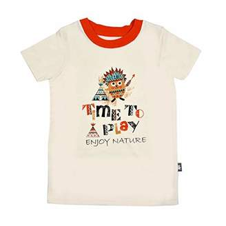 Camilla And Marc Boys Short Sleeve T-Shirt Small Indian Size 6/8 Years (116/128 cm)