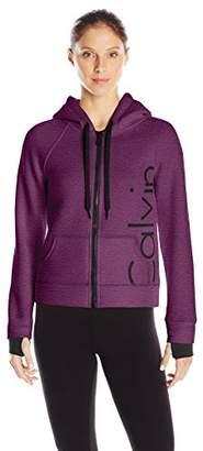 Calvin Klein Women's Bonded Knit Logo Jacket