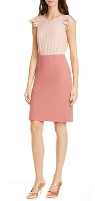 Rebecca Taylor Tailored by Stretch Suiting Dress