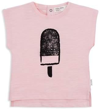 Miles Baby Girls' Cap-Sleeve Popsicle Tee - Baby