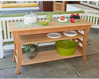 Creekvine Designs Cedar Entertaining Buffet Table Table