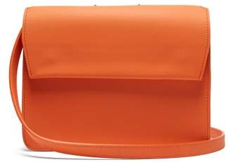 Pb 0110 Ab83 Leather Shoulder Bag - Womens - Orange Multi