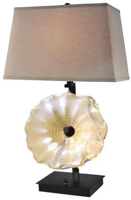 "Dale Tiffany Impasto 28.5""H Hand Blown Art Glass Table Lamp"