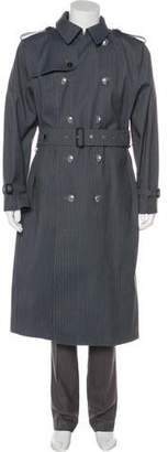 MACKINTOSH Slam Jam Reflective Double-Breasted Trench Coat w/ Tags