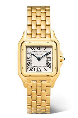 Cartier Panthère De 27mm Medium 18-karat Gold Watch