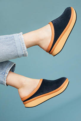 See By Chloe Nostalgic Colorblock Mules $218 thestylecure.com