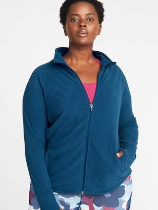 Old Navy Micro Performance Fleece Plus-Size Zip Jacket