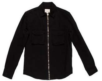 Band Of Outsiders Twill Shirt Jacket