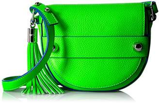 Milly Astor Small Crossbody Saddle