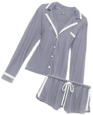 Cosabella Bella Long Sleeve Top Boxer Pajama Set