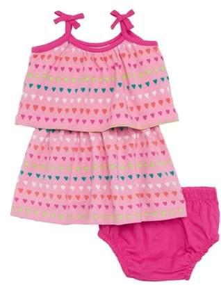 Hatley Layered Heart Print Dress