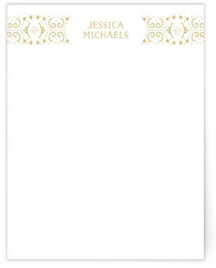 Glamorous Deco Business Stationery Cards