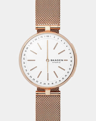 Skagen Hybrid Smartwatch Signatur Connected Rose Gold-Tone
