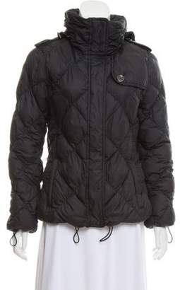 Burberry Quilted Short Jacket