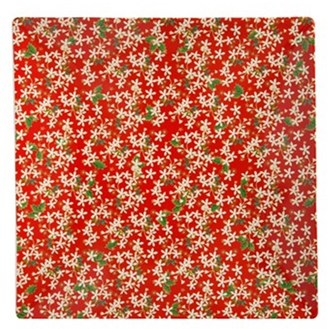 Maxwell & Williams Festive Blossom Square Platter 30cm Gift Boxed