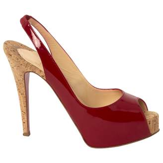 Christian Louboutin Patent Leather Court Shoes