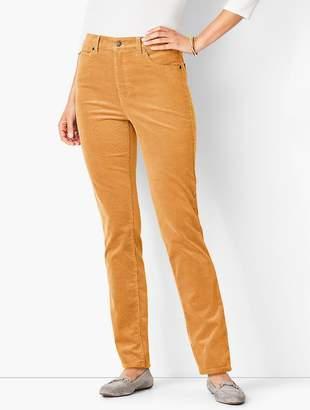 Talbots High-Rise Straight-Leg Pant - Cord
