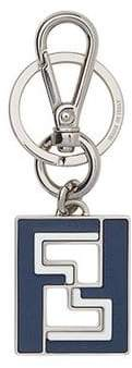 Fendi FF logo keyring
