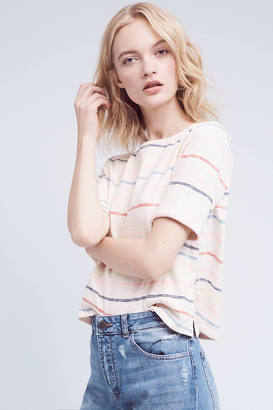 Pure + Good Rolled-Sleeve Tee $58 thestylecure.com