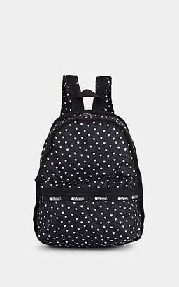 Le Sport Sac Le Sportsac Women's Candace Mini-Heart-Print Ripstop Backpack - Black