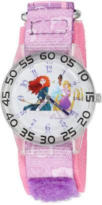 Disney The Princess & The Frog Kids' W002951 Rapunzel Analog Display Analog Quartz Watch