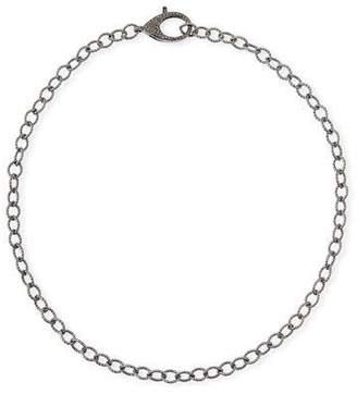 Margo Morrison Diamond Lock Chain Necklace