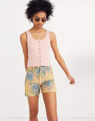 Madewell Emmett Shorts in Painted Blooms