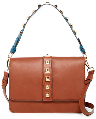 Steve Madden Flap Faux Leather Crossbody $88 thestylecure.com