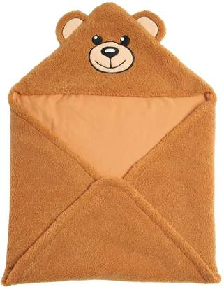 Moschino Logo Bear Blanket