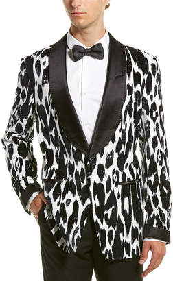 Tom Ford Shelton Silk-Blend Lined Tuxedo Jacket