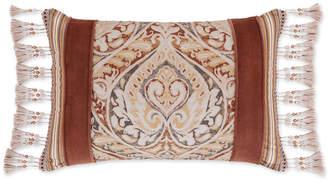 "J Queen New York Serenity Spice 15"" x 21"" Boudoir Decorative Pillow Bedding"