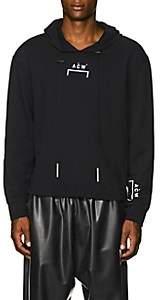 A-Cold-Wall* Men's Logo-Print Cotton Terry Hoodie - Black