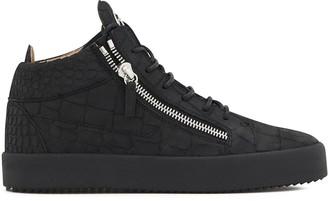 Giuseppe Zanotti Kriss Croco hi-top sneakers