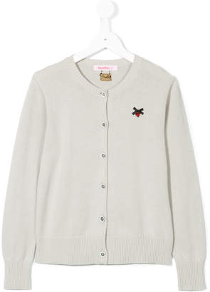 Familiar cardigan with embroidery