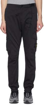 Stone Island Cotton-wool cargo pants