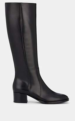 Gianvito Rossi Women's Wade Leather Knee Boots - Black