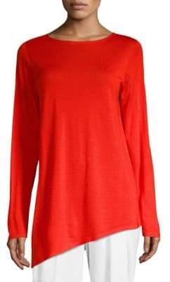 Eileen Fisher Wool Cashmere & Silk Tunic